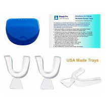 3 Thermo-forming dental impression trays with case