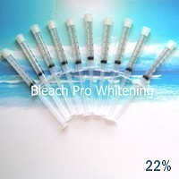 12 Whitening Syringes 22%