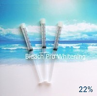 3 Whitening Syringes 22%